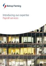 Payroll Brochure Cover